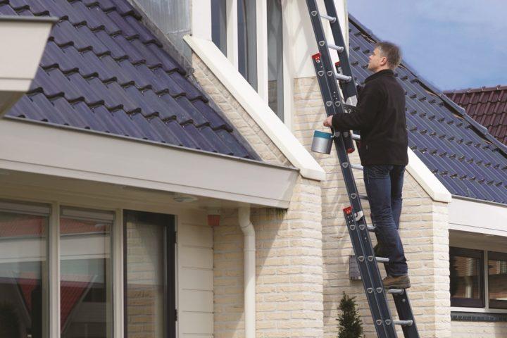 Veilig ladder opstellen|