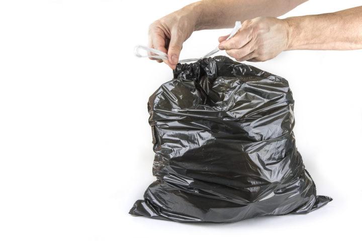 Afvalzakken en afvalbakken voor elk type 'waste'