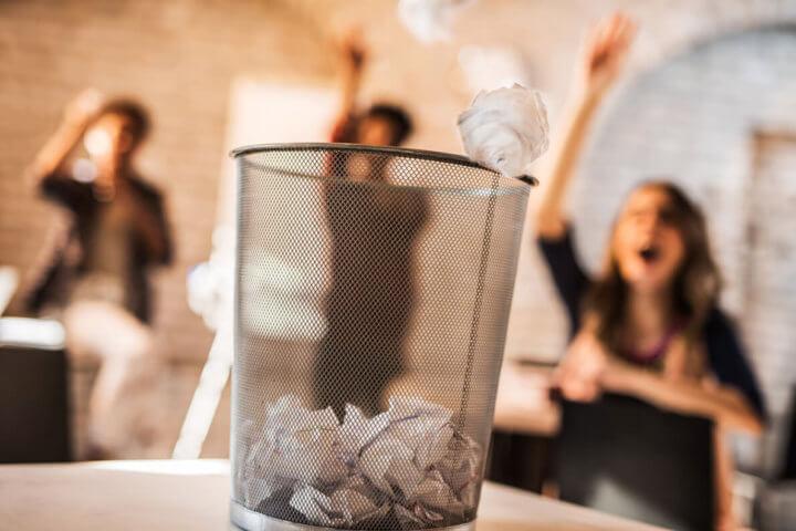 Afval scheiden op kantoor