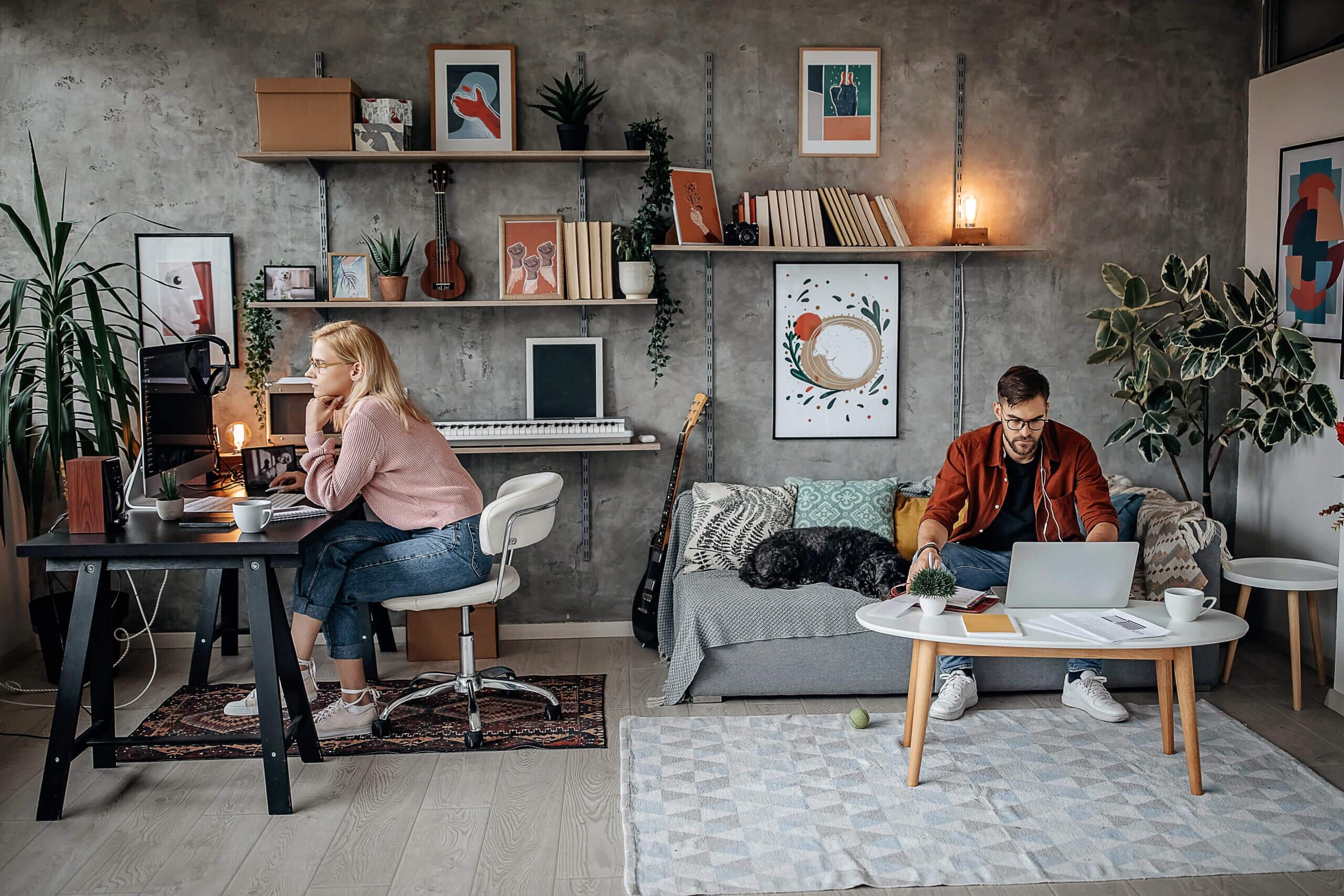 Flex office et télétravail : vers un réaménagement de l'espace de travail