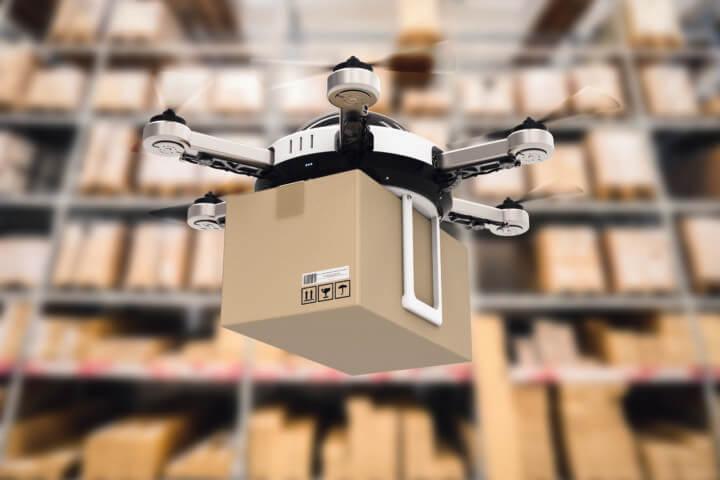 L'inventaire par drone