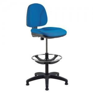 Werkstoel met stof